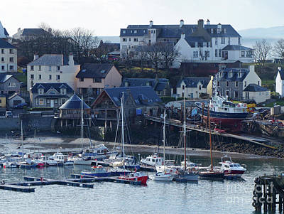 Photograph - Mallaig Marina  by Phil Banks