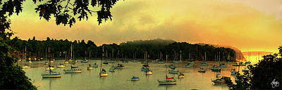 Photograph - Mallets Bay Panorama by Wayne King