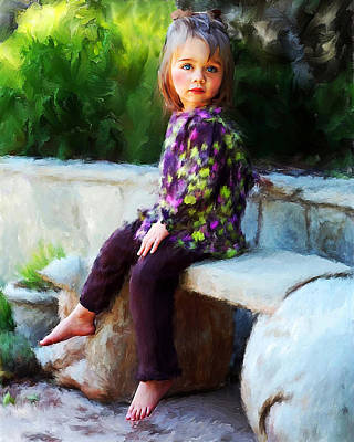 Painting - Mallory by Fred Baird