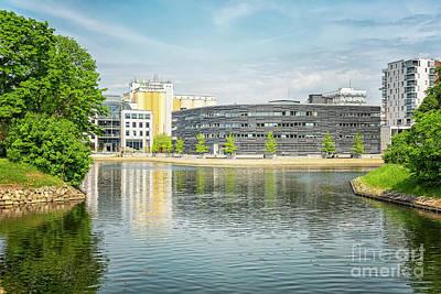 Photograph - Malmo City Courthouse by Antony McAulay
