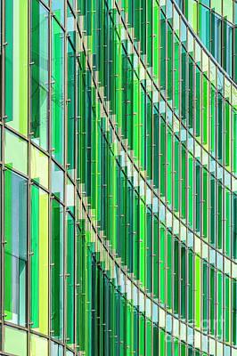 Photograph - Malmo Glasvasen Background Texture by Antony McAulay