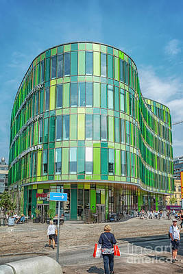 Photograph - Malmo Glasvasen Modern Building by Antony McAulay