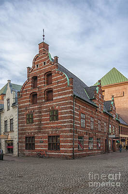 Malmo Photograph - Malmo Old City Center Building by Antony McAulay