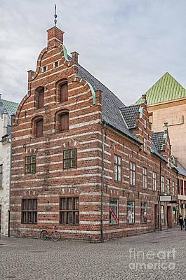 Malmo Old Town House Art Print