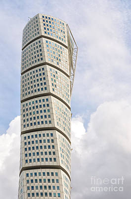Malmo Photograph - Malmo Turning Torso by Antony McAulay