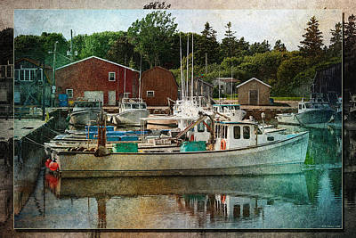 Photograph - Malpeque Harbour 3 by WB Johnston