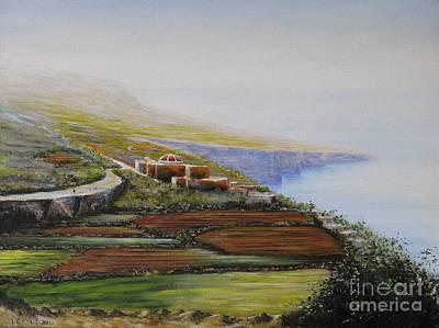 Malta Fawwara Chapel Art Print