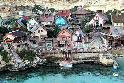 Digital Art - Malta Island by S Art
