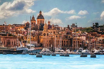 Photograph - Malta by Maria Coulson
