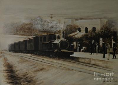 Painting - Malta Railway by Tony Calleja
