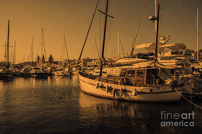 Maltese Photograph - Maltese Boats  by Rob Hawkins