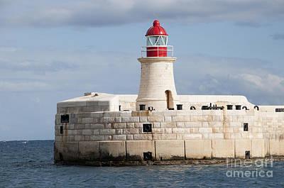 Photograph - Maltese Lighthouse  by Brenda Kean