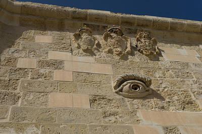Photograph - Maltese Symbols - Eye Of Osiris For Luck And Protection by Georgia Mizuleva
