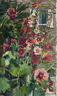 Painting - Malvas Of Montenegro by Juliya Zhukova