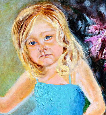 Painting - Malwinka by Henryk Gorecki