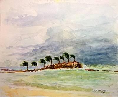 Painting - Malya Jamaica by Nicolas Bouteneff
