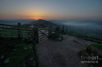 Photograph - Mam Tor 1.0 by Yhun Suarez