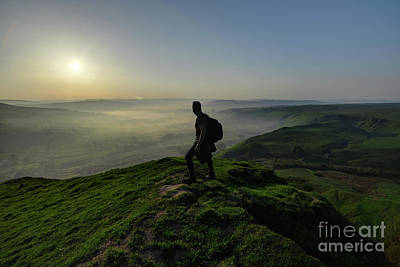 Photograph - Mam Tor 2.0 by Yhun Suarez