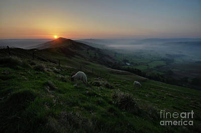 Photograph - Mam Tor 3.0 by Yhun Suarez