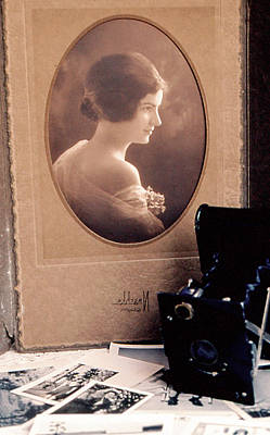 Photograph - Mama 1920's by Gary Brandes