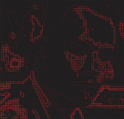 Digital Art - Mama Always Said Beware Of Russian Hackers. Tnm by Mark Van den dries