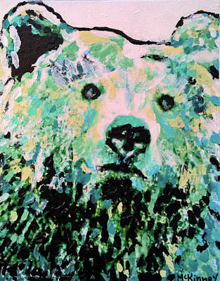 Mixed Media - Mama Bear by Lisa McKinney