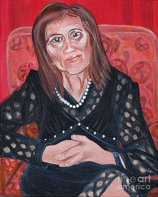 Painting - Mama by Oksana Semenchenko