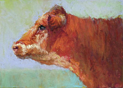 Pastel - Mama Red  by Susan Williamson