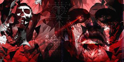 Voodo Digital Art - Maman Brigitte And Baron Samedi by Donald K