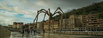 Photograph - Maman Spider Bilbao Spain by Henri Irizarri