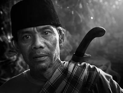 Knife Photograph - Mamang Nya Nico by Andre Arment