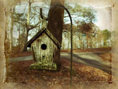 Mamaw's Birdhouse Print by Steven  Michael