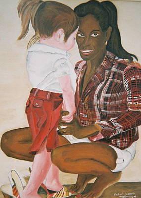 Mami Sandal Art Print by Desenclos Patrick