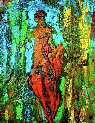Goddess Mythology Mixed Media - Mami Wata by Alice Schwager