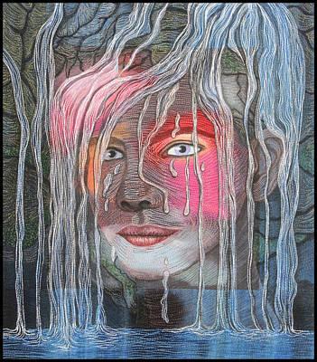 Painting - Mami Wata by Hollis Chatelain