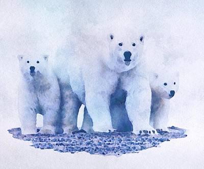 Mamma Bear  Art Print