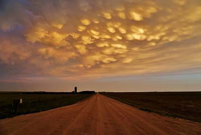 Photograph - Mammatus Road by Ed Sweeney