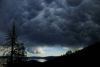Photograph - Mammatus Storm by Sean Sarsfield