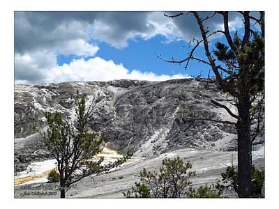 Photograph - Mammoth Hot Springs by Joan  Minchak