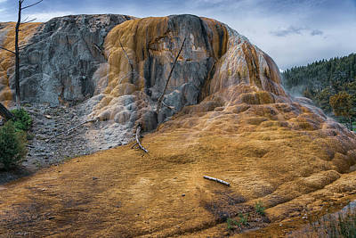 Photograph - Mammoth Hot Springs Yellowstone Np_grk7850_05282018-hdr by Greg Kluempers
