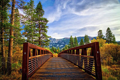 Photograph - Mammoth Lakes Bridge To Beauty by Lynn Bauer