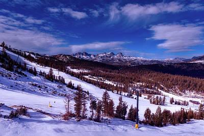 Photograph - Mammoth Lakes Ski Slope by L O C