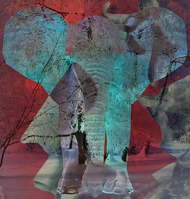 Mixed Media - Mammoth by Marvin Blaine