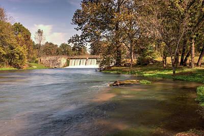 Mammoth Spring Photograph - Mammoth Springs Arkansas 2 by Douglas Barnett
