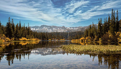 Photograph - Mammoth Twin Lakes by Jerome Obille