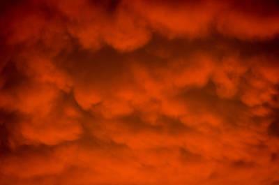 Mammutus Clouds Sunset Art Print