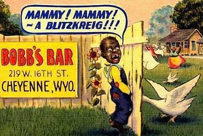 Digital Art - Mammy A Blitzkreig by ReInVintaged