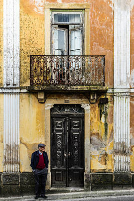 Alentejo Photograph - Man At The Door by Marco Oliveira