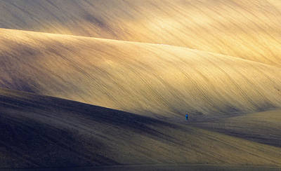 Moravia Photograph - Man At Work by Piotr Krol (bax)
