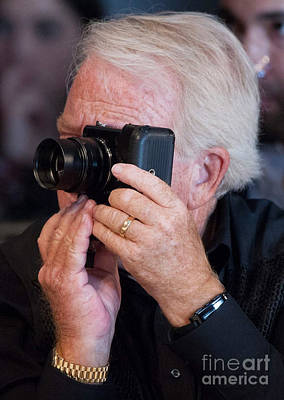 Photograph - Man-camera by Bob Brents